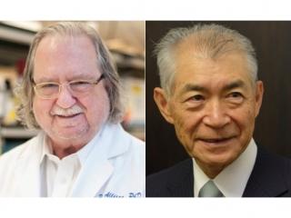 2018諾貝爾生醫獎得主 以免疫療法改變世界(左為艾利森(James P. Allison),右為本庶佑(Tasuku Honjo))(圖片來源:諾貝爾獎官網)